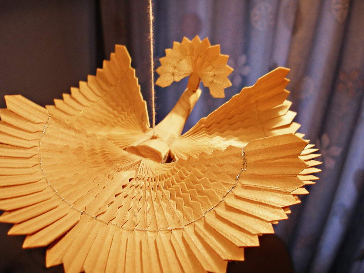 Деревянные птицы счастья своими руками