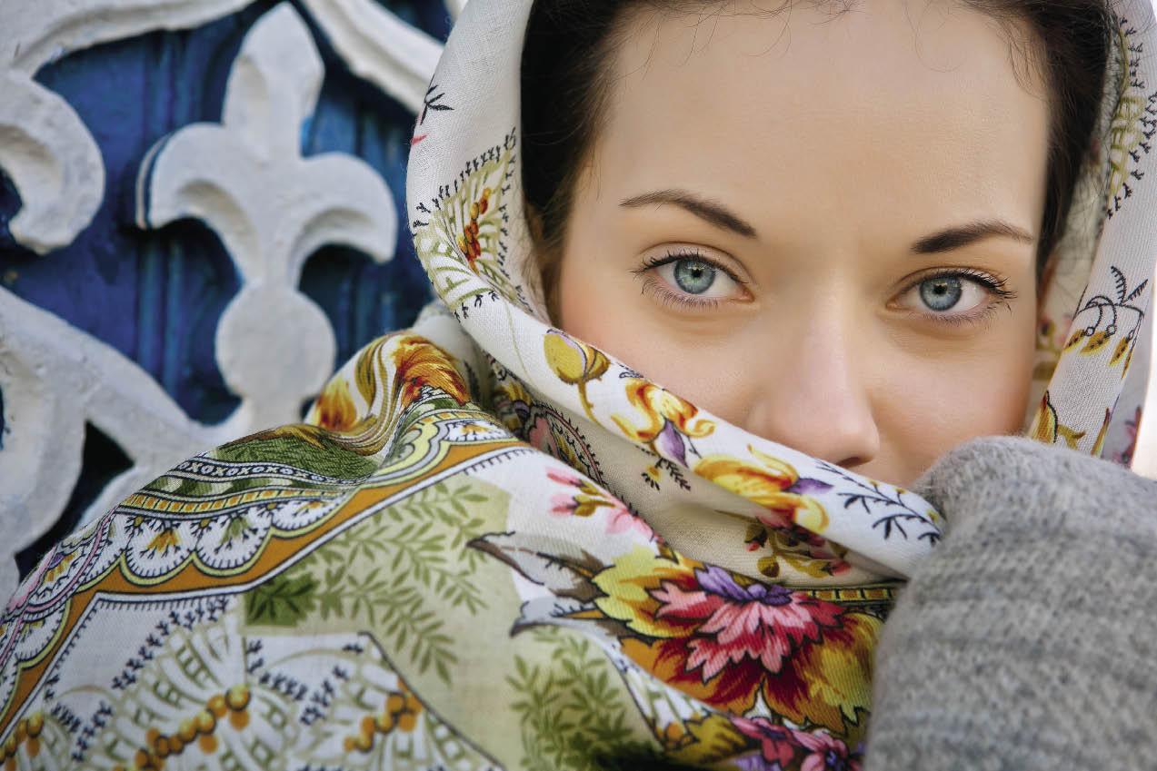 Русский платок...