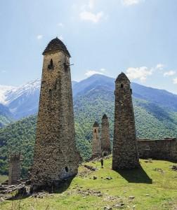 Вид на башенное селение Эрзи