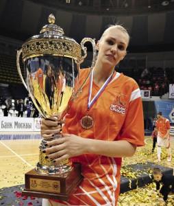 Баскетболистки уральского УГМК (Екатеринбург) выиграли Кубок России.