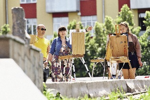Художники на улицах Самары