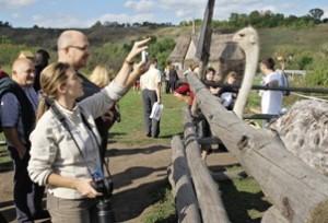 В сафари-парке «Кудыкина гора»  люди, птицы и животные общаются без преград.