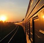 поезд в закат 200