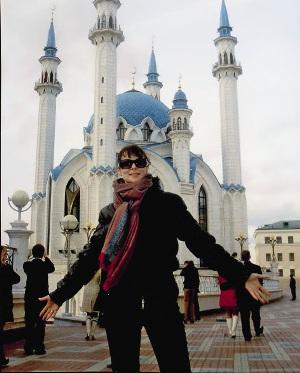 Актрису приятно потрясла обновленная Казань. Вот это город!