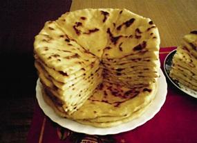 Чапилгаш – пресные лепешки с начинкой – кулинарный бренд Ингушетии