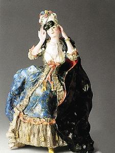 В XVIII веке появились фарфоровые куклы, доступные лишь узкому кругу при дворе