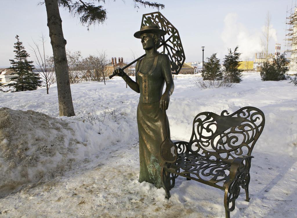 Мода на необычные памятники дошла и до Самары-городка.