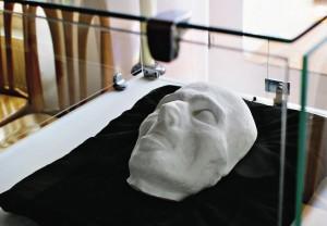Посмертная маска философа.