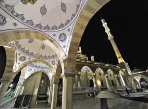 Мечеть «Сердце Чечни» имени Ахмата Кадырова в центре Грозного.