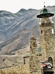 Мечеть в селении Итум-Кали.