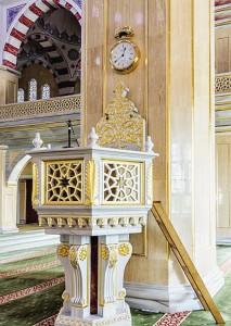 В мечети «Сердце Чечни».