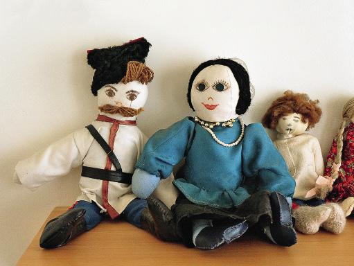 Такими игрушками играл маленький Шолохов.