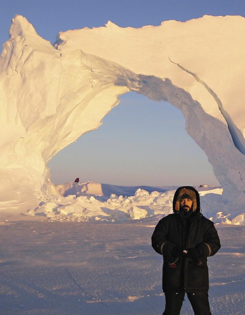 Многие из айсбергов имеют причудливую форму: ветер – хороший скульптор.