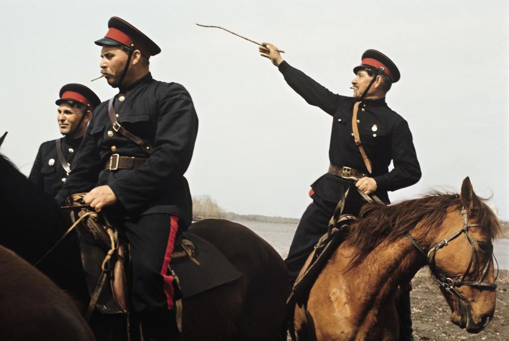 Такими были казаки из станицы Вешенской во времена Шолохова.