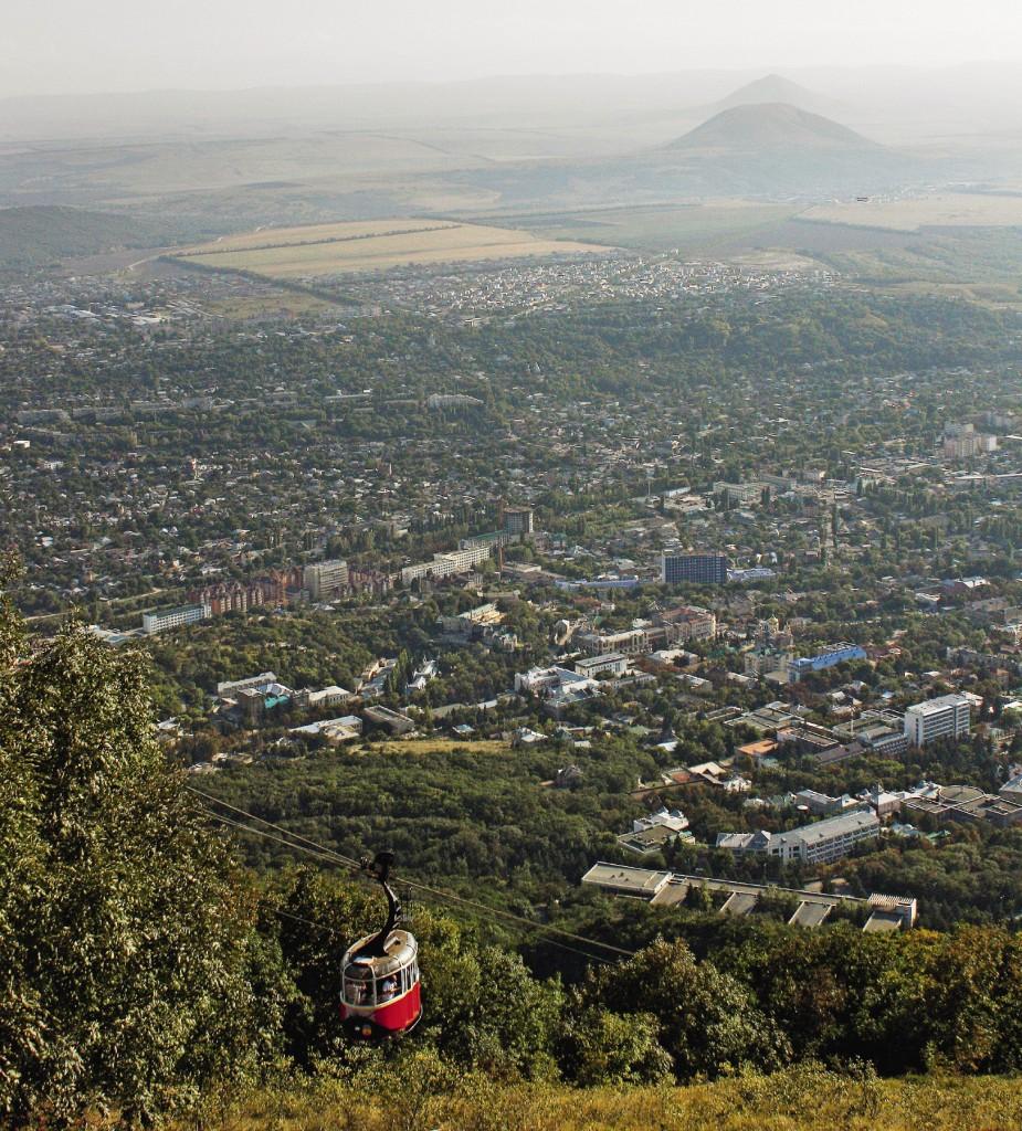 Пятигорск. Вид с вершины горы Машук.