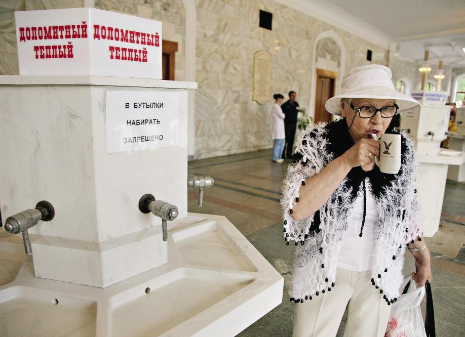 Галерея минеральной воды в Кисловодске пользуется большим спросом!