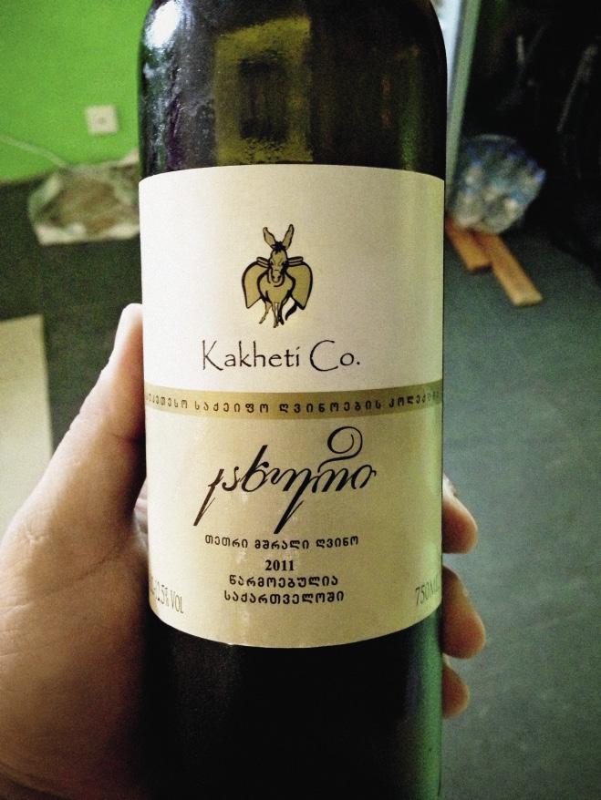 Самые лучшие грузинские вина имеют кахетинское происхождение.