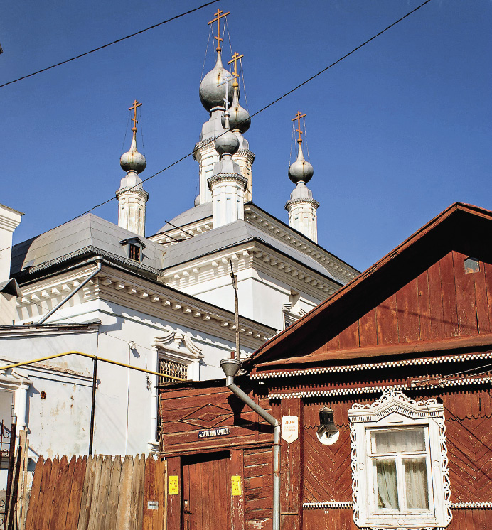 Старая Калуга привлекает своей простотой и патриархальностю.