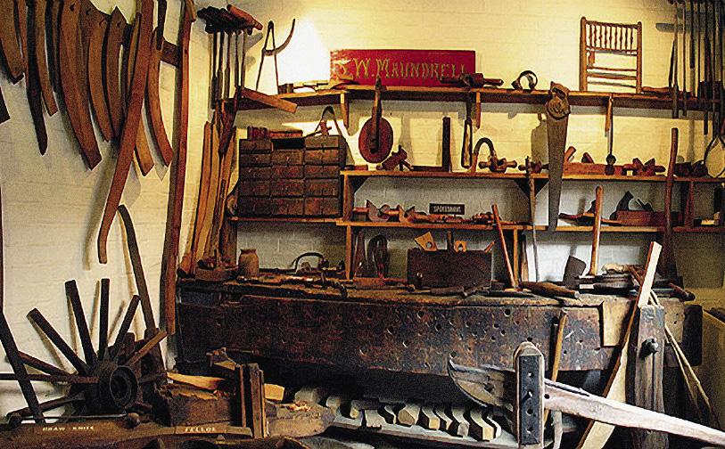 Так выглядели столярные мастерские Кувы.