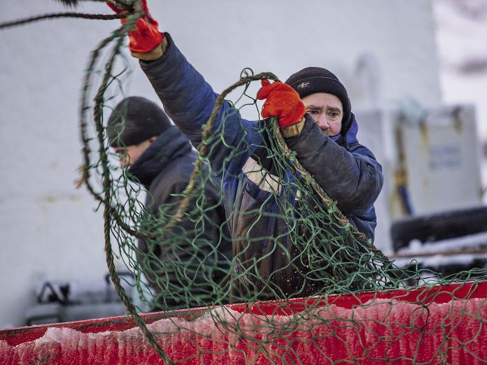 Рыбный промысел в поселке испокон веков был основной статьей доходов.