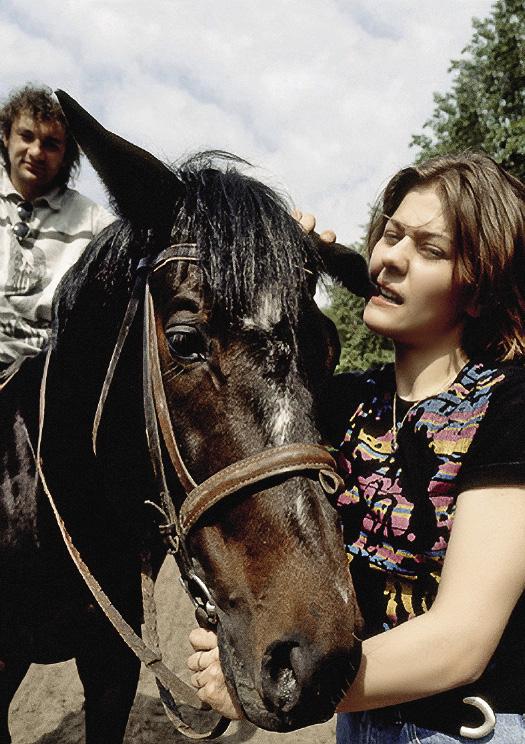 У Маши второй разряд по конному спорту.
