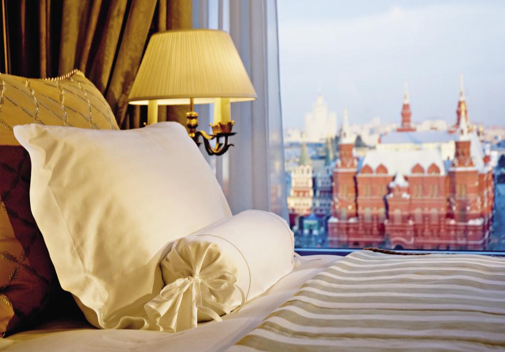 Проснувшись в Президентском люксе отеля, увидите Красную площадь.