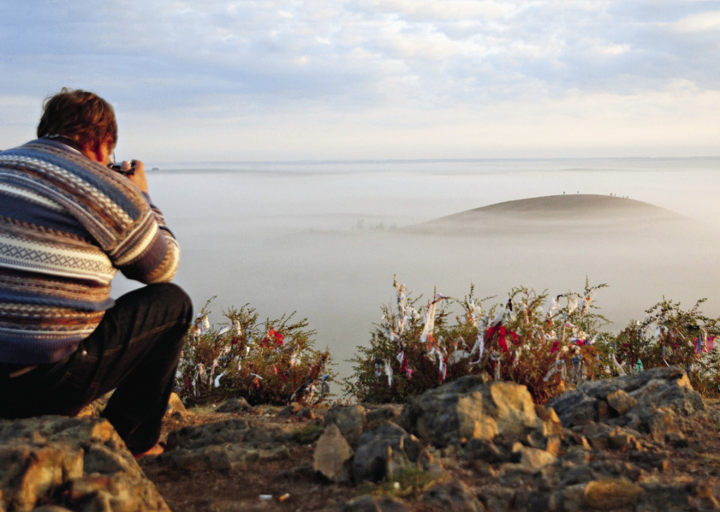 Челябинская область. Природно-ландшафтный и историко-культурный музей-заповедник «Аркаим». Вид на долину горы Шаманка.