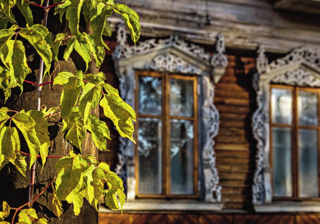 Резные наличники – немногое, что осталось от старого Весьегонска.