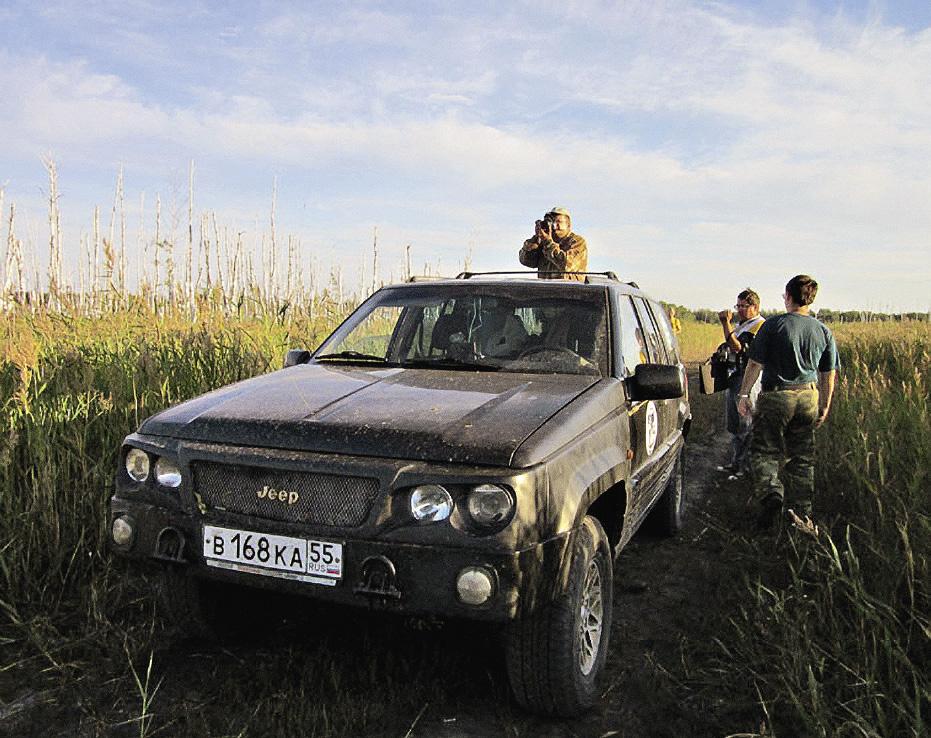 Очередная экспедиция познает богатый сибирский край...