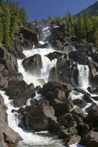 Алтай. Водопад Учар