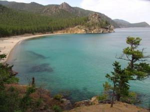Панорама озера Байкал