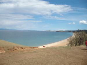 Песчаные пляжи озера Байкал