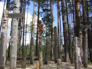 Рязанская область. Поляна идолов