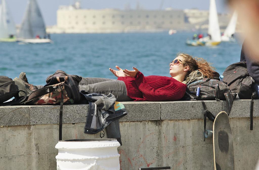 Набережная города – самое привлекательное место для туристов. Севастополь. Крым