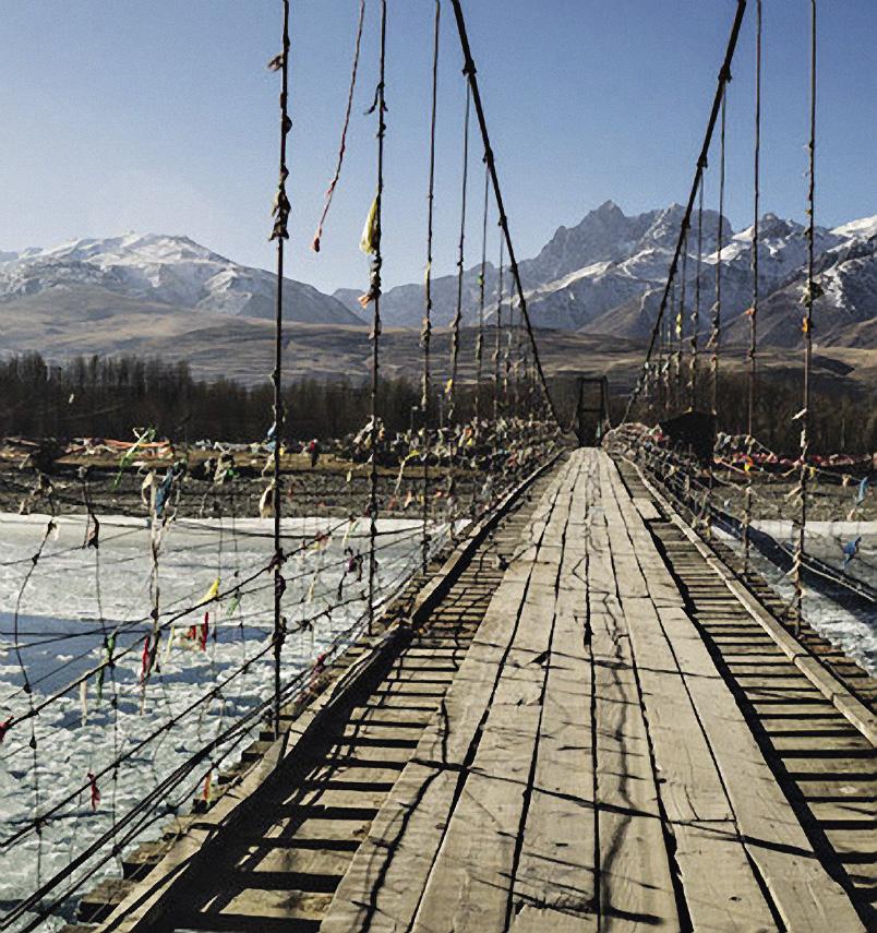 Настоящему путешественнику подвесной мост не страшен. Дальний восток