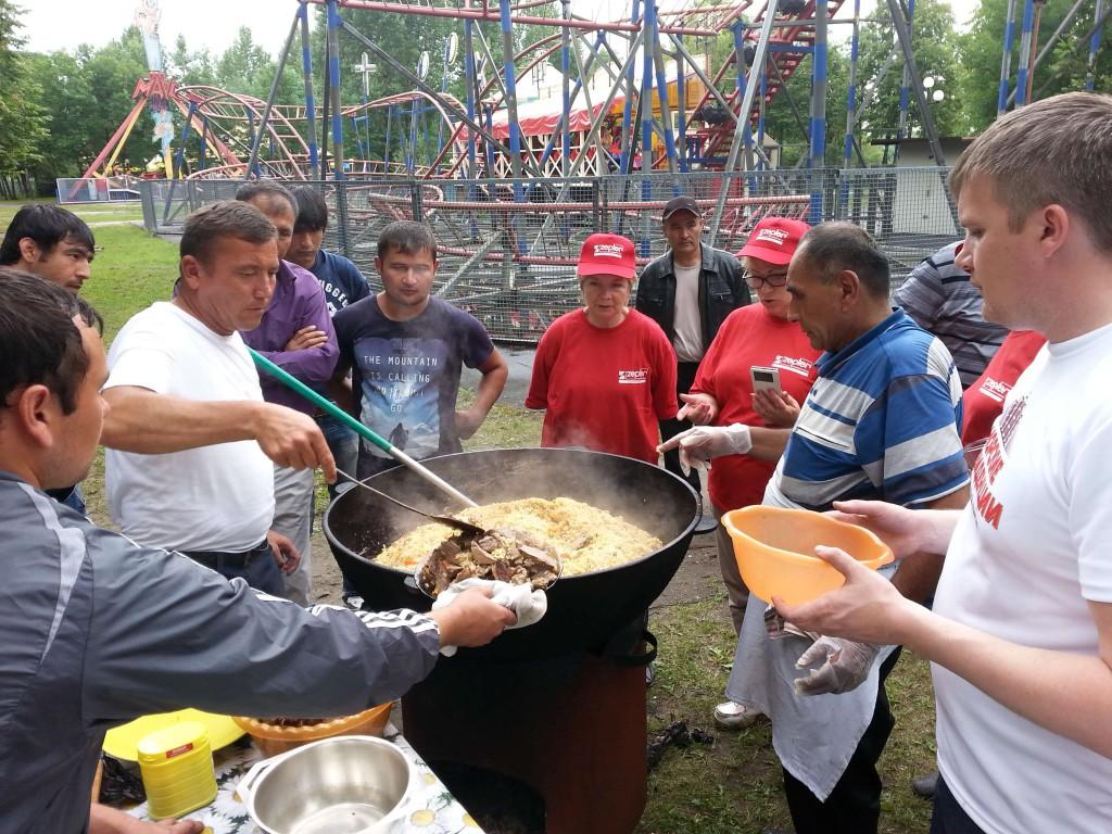 3-й гастрономический фестиваль «Лига Шашлыка». Ярославская область