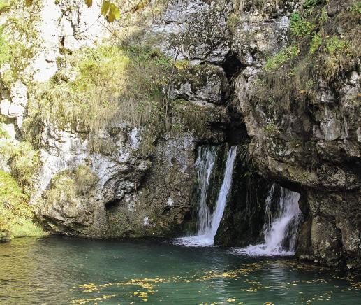 Водопад Атыш. Республика Башкоторстан
