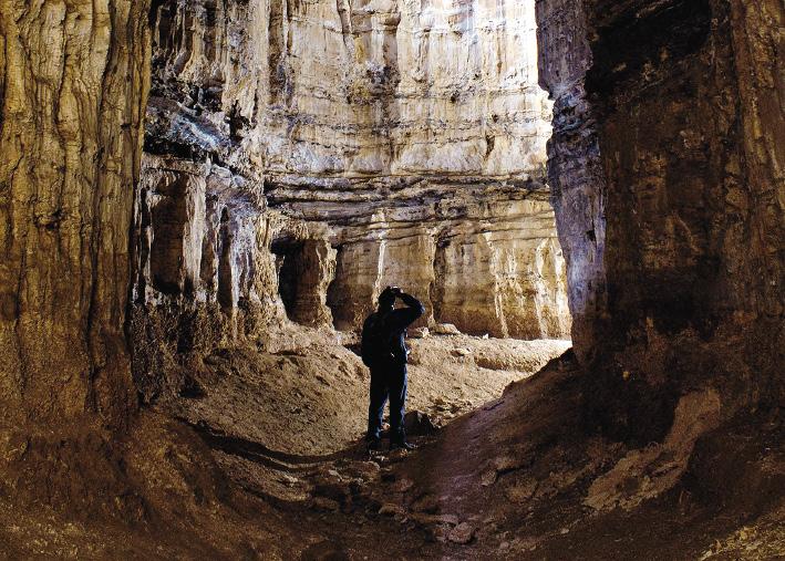 Киндерлинская пещера. Республика Башкоторстан