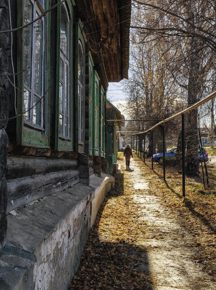 Ближайшая цель Ивана – посетить Чекалин, самый маленький город страны. .Чекалин. Тульская область