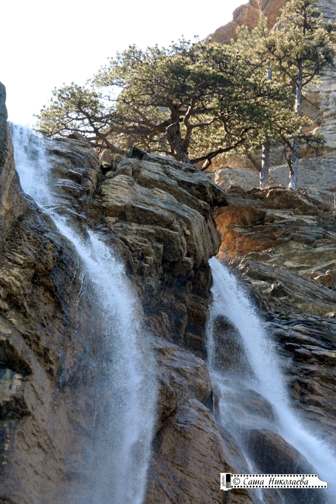 водопад Учан-су Большая Ялта