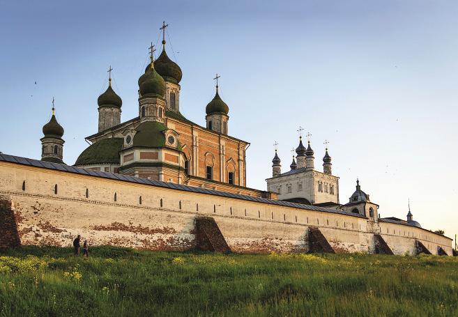 Успенский Горицкий монастырь когда-то был укрепленной крепостью, а теперь стал музеем. Ярославская область