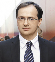 ВЛАДИМИР МЕДИНСКИЙ, министр культуры России.