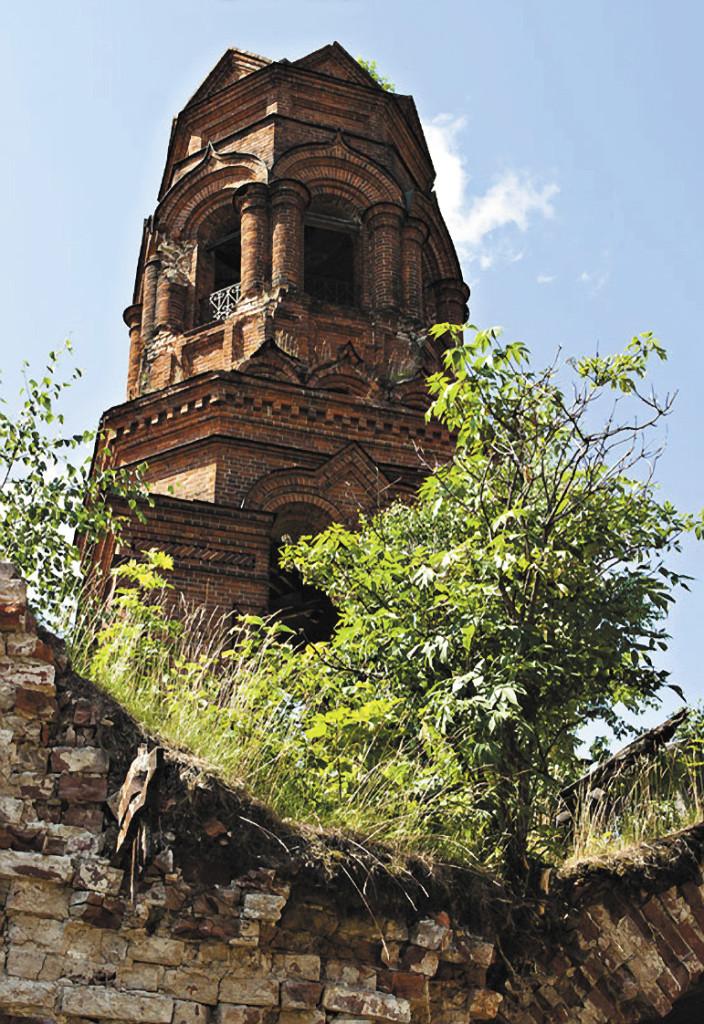 Церковь Благовещения Пресвятой Богородицы в Покче Чердынского района. Пермский край