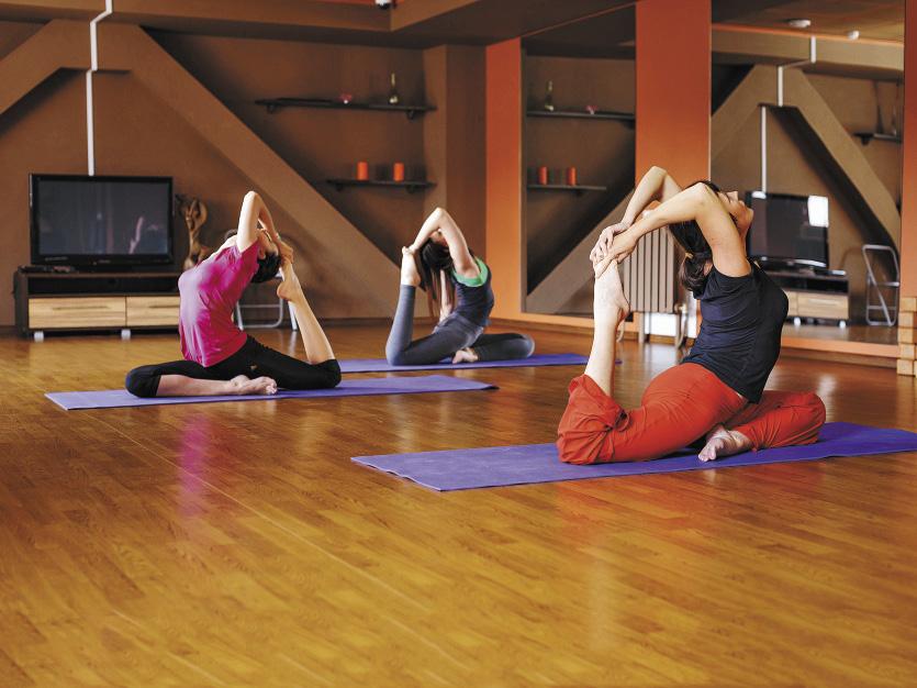 В санатории «Россия» – несколько залов для занятий спортом и лечебной гимнастикой. Алтайский край