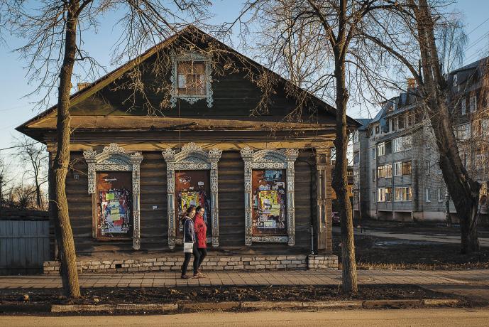 В Ростове уживаются друг с другом древнее и новое... Ярославская область