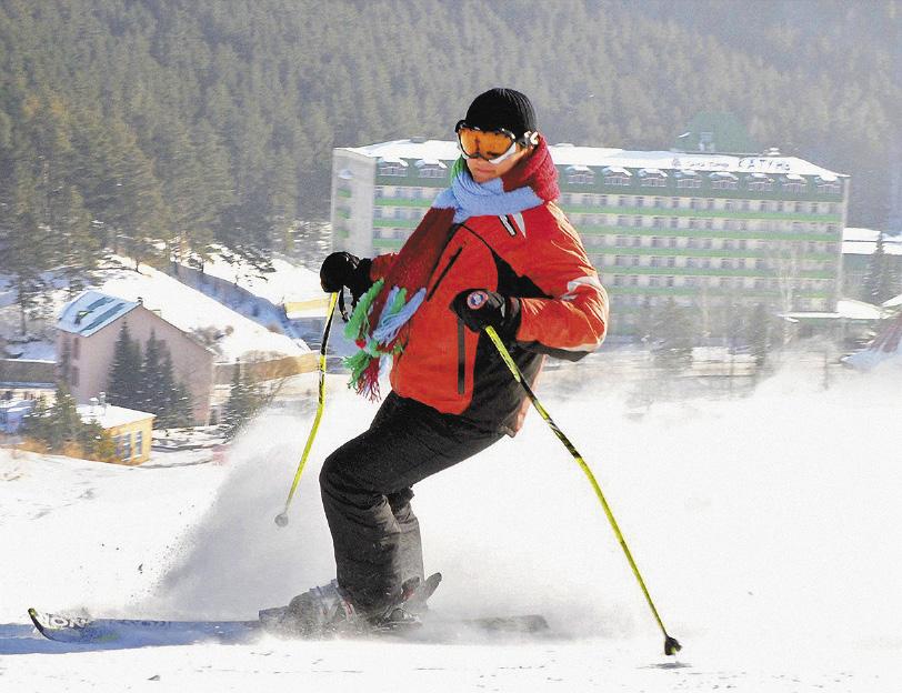 В новом кластере будут проложены четыре современные горнолыжные трассы.