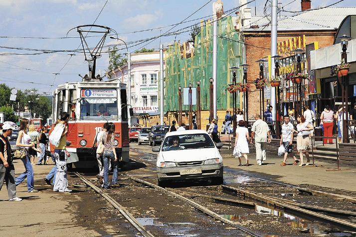 Уровень благоустройства даже на центральных улицах оставляет желать лучшего. Иркутская область