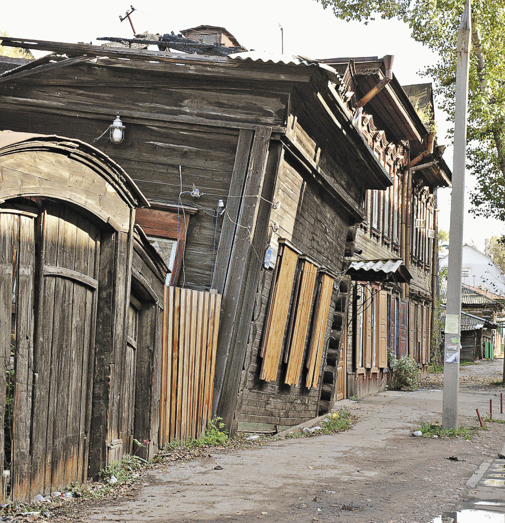 Изюминка Иркутска – кварталы сохранившейся деревянной застройки. Иркутская область