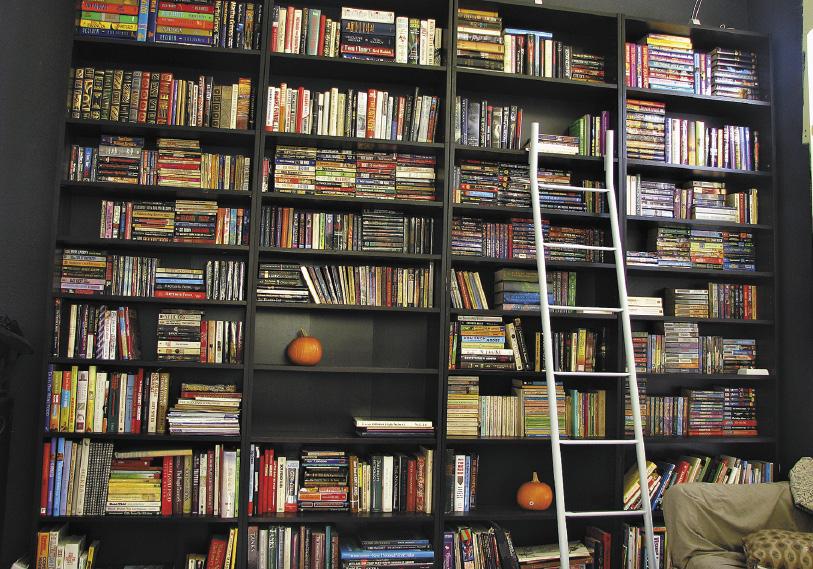 Когда-то иметь хорошую библиотеку дома было модно.