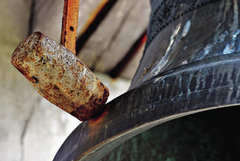 Самый большой колокол подарил городу хлеботорговец Жданов. Кашин. Тверская область